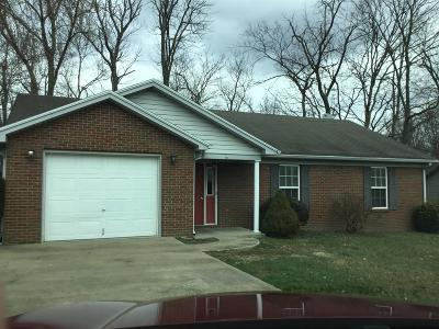Lawrenceburg Single Family Home For Sale: 608 Nickelbie Drive
