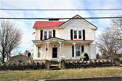 Carlisle KY Single Family Home For Sale: $169,500