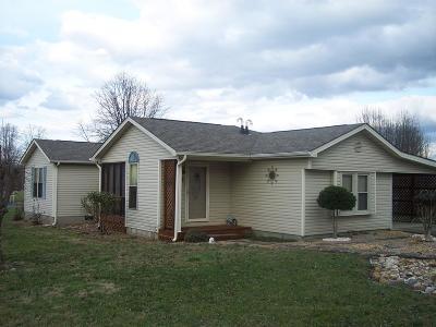 Corbin KY Single Family Home For Sale: $89,900