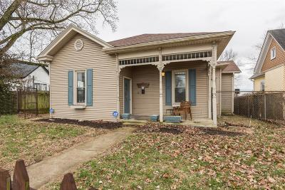 Nicholasville Single Family Home For Sale: 216 Richmond Avenue