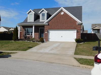 Georgetown Single Family Home For Sale: 107 Starting Gate Point