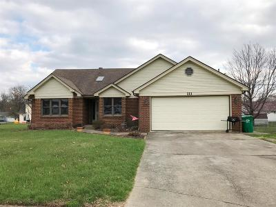 Lawrenceburg Single Family Home For Sale: 111 Feland Drive