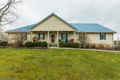 Harrodsburg Single Family Home For Sale: 845 Manns Rd