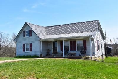 Harrodsburg Single Family Home For Sale: 4236 Mackville Road