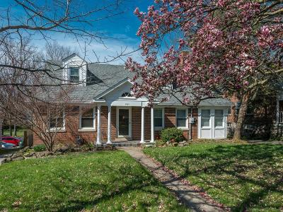 Single Family Home For Sale: 1707 Versailles Road