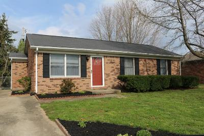 Nicholasville Single Family Home For Sale: 121 Tomahawk Drive