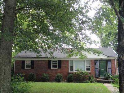 Single Family Home For Sale: 628 Cardinal Lane