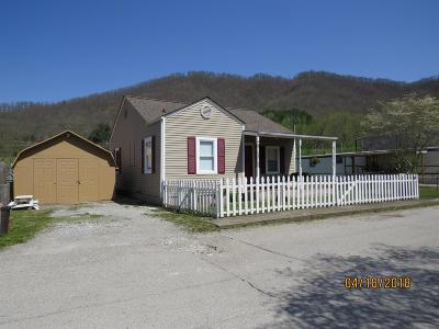 Loyall KY Single Family Home For Sale: $62,500