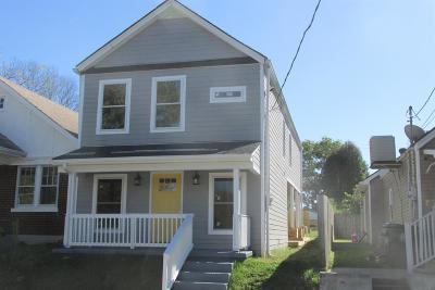 Lexington Single Family Home For Sale: 540 N Upper Street
