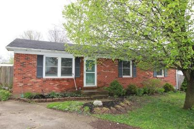 Lawrenceburg KY Single Family Home For Sale: $112,500