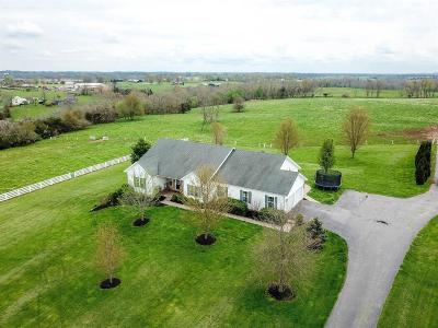 Harrodsburg Single Family Home For Sale: 225 Curdsville Road