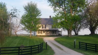 Harrodsburg Single Family Home For Sale: 4170 Lexington Road