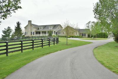 Anderson County, Fayette County, Franklin County, Henry County, Scott County, Shelby County, Woodford County Farm For Sale: 595 Moores Mill Road