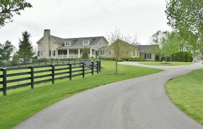 Bourbon County, Fayette County, Harrison County, Scott County, Woodford County Single Family Home For Sale: 595 Moores Mill Road