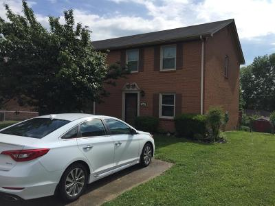 Richmond KY Single Family Home For Sale: $109,900