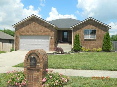 Nicholasville Single Family Home For Sale: 709 Cannnonball Drive