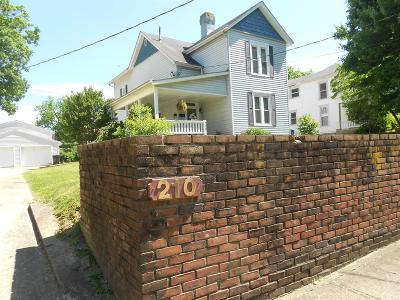 Winchester Single Family Home For Sale: 210 Boone Avenue