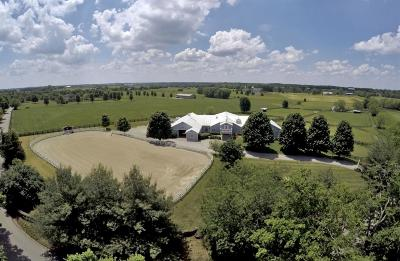 Anderson County, Fayette County, Franklin County, Henry County, Scott County, Shelby County, Woodford County Farm For Sale: 1101 N Yarnallton Pike