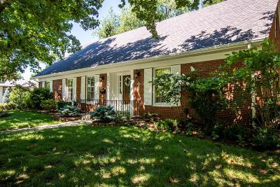 Lexington Single Family Home For Sale: 3345 Bellefonte Drive