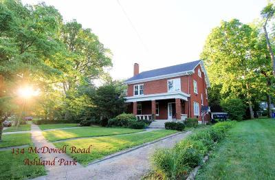 Lexington Single Family Home For Sale: 134 McDowell