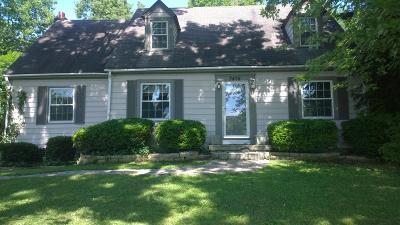 Single Family Home For Sale: 3478 Tates Creek