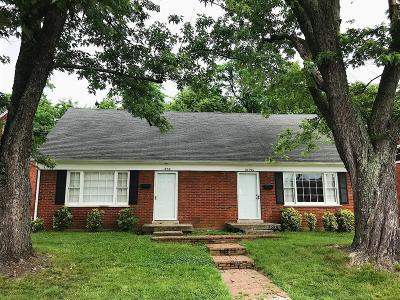 Anderson County, Fayette County, Franklin County, Henry County, Scott County, Shelby County, Woodford County Multi Family Home For Sale: 1839 Marietta Drive
