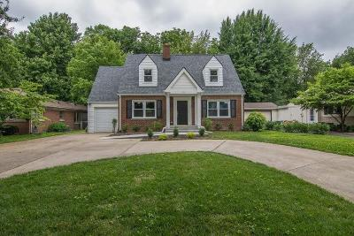 Lexington Single Family Home For Sale: 509 Chinoe Road