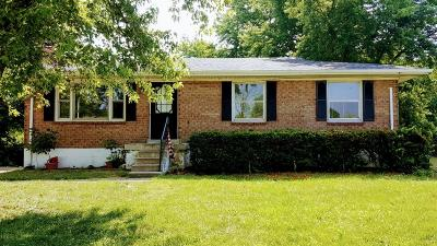 Georgetown KY Single Family Home For Sale: $127,000