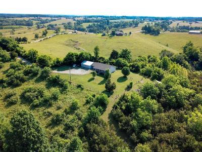 Harrodsburg Single Family Home For Sale: 2540 Cornishville Rd