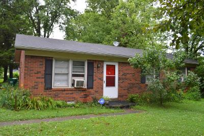 Danville Single Family Home For Sale: 1037 Greenview Street