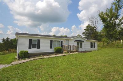 Harrodsburg Single Family Home For Sale: 4062 Talmage Mayo Road