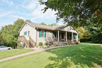 Single Family Home For Sale: 836 Old Davistown School Road