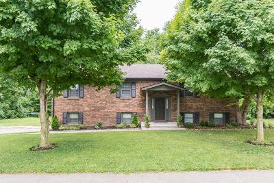 Nicholasville Single Family Home For Sale: 102 Fairway Drive