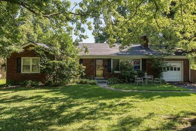 Single Family Home For Sale: 1013 Lane Allen Road
