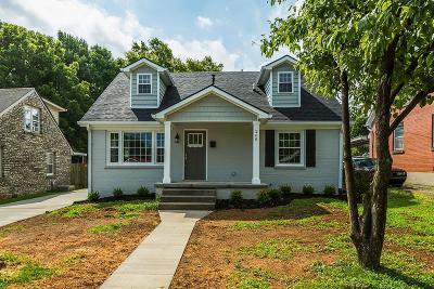 Lexington Single Family Home For Sale: 268 Preston Avenue