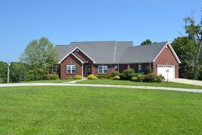 Harrodsburg Single Family Home For Sale: 1225 Talmage Mayo Road