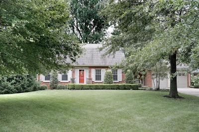Lexington Single Family Home For Sale: 132 Idle Hour Drive