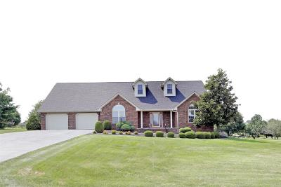 Harrodsburg Single Family Home For Sale: 216 Fountaine Trace