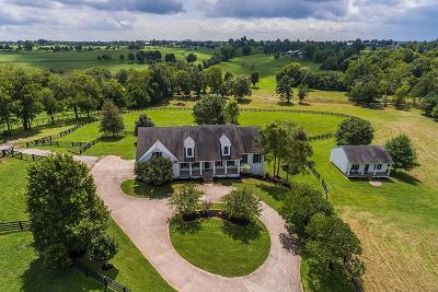 Anderson County, Fayette County, Franklin County, Henry County, Scott County, Shelby County, Woodford County Farm For Sale: 4361 Bridle Ridge Lane