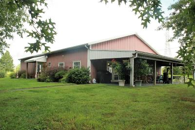 Harrodsburg Single Family Home For Sale: 1000 Bellows Mill Road
