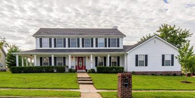 Nicholasville Single Family Home For Sale: 100 Indian Summer Trail