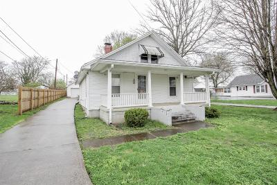 Paris Single Family Home For Sale: 217 N Middletown Road