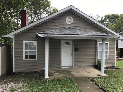 Frankfort Single Family Home For Sale: 713 Cline Street