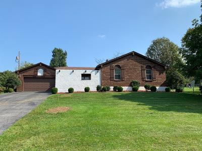 Paris Single Family Home For Sale: 1009 Crestwood Heights