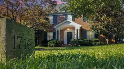 Lexington Single Family Home For Sale: 1716 Bon Air Drive