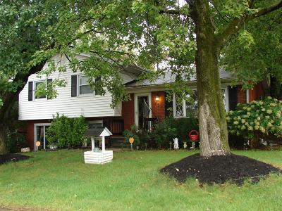 Fayette County Single Family Home For Sale: 1854 Marlboro Drive
