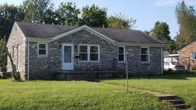 Lexington Single Family Home For Sale: 2222 Circle Drive