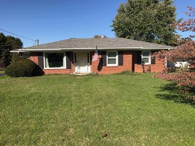 Danville KY Single Family Home For Sale: $130,000