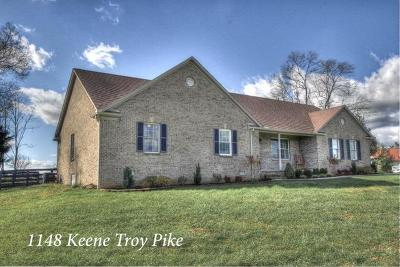 Versailles Single Family Home For Sale: 1148 Keene Troy Pike