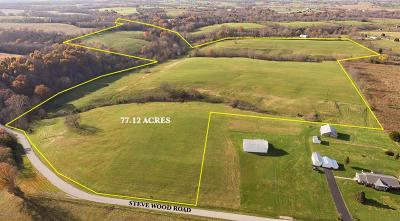 Anderson County, Fayette County, Franklin County, Henry County, Scott County, Shelby County, Woodford County Farm For Sale: 100 Steve Wood Road